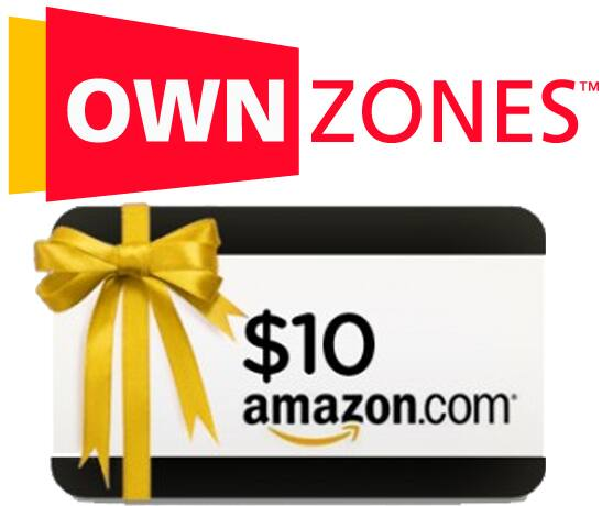 Ownzones: $10 Amazon Gift Card for New Subscribers from as low as $2 (New Subscribers)