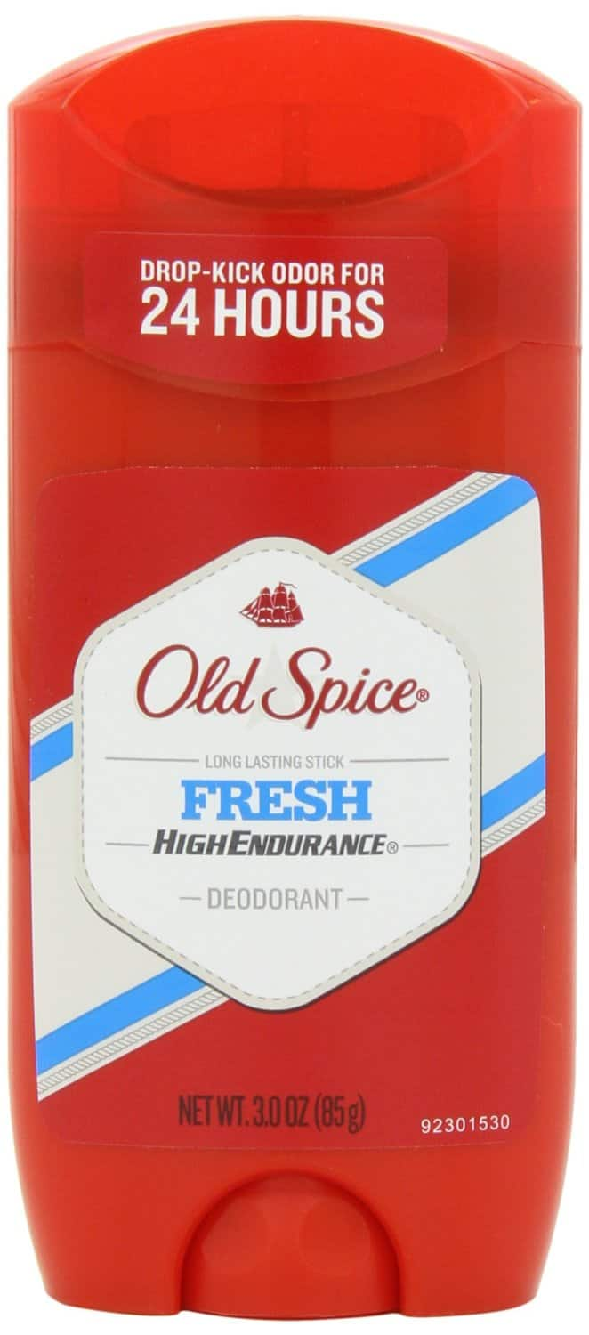 4-Pack of 3oz Old Spice Fresh Scent High Endurance Men's Deodorant $5.92 + Free Shipping