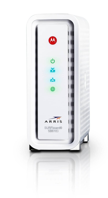 Motorola Arris SurfBoard SB6183 DOCSIS 3.0 Cable Modem  $90 + Free Shipping