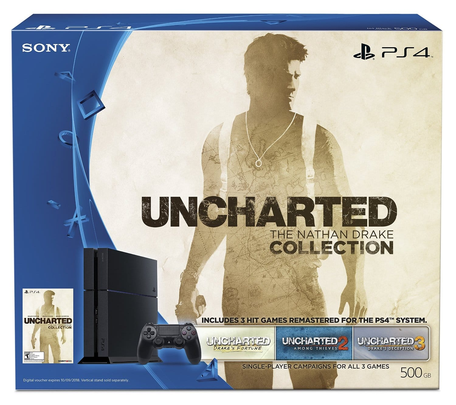 Playstation 4 Uncharted Bundle + Fallout 4 + Charging Station  $350 + Free Shipping