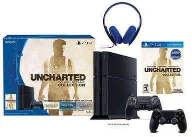 PlayStation 4 Uncharted Bundle + Controller + Headset + $105 KC  $350 + Free Shipping