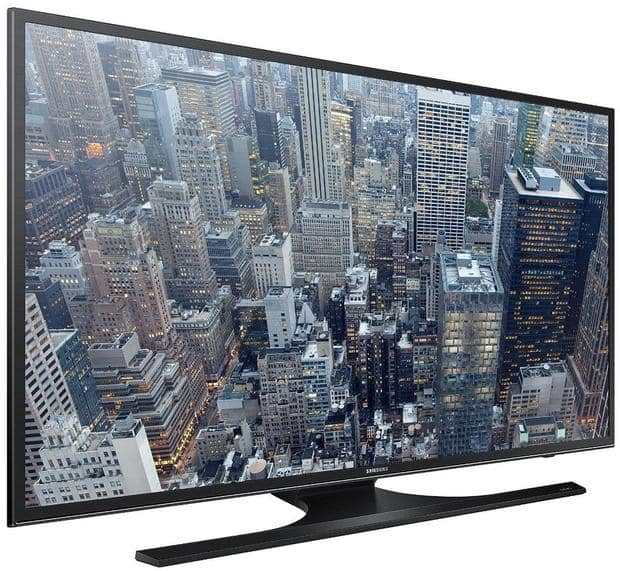 "40"" Samsung UN40JU6500 4K Smart LED HDTV + Focus Camera Gift Card $450 + free shipping"