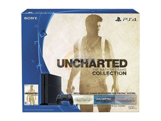 Sony PlayStation 4 - Uncharted: The Nathan Drake Collection Bundle $279.99 @ newegg