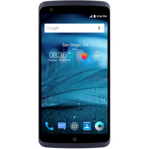 "32GB ZTE Axon 5.5"" GSM Unlocked Smartphone (Blue) $200 + Free Shipping"