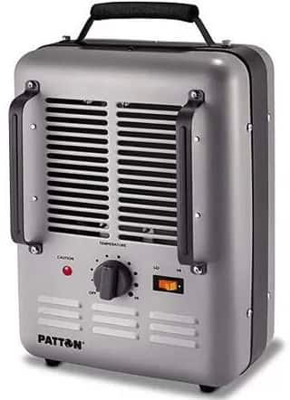 Patton Electric Utility Milkhouse Heater: 1 for $19 or 2 for $30 with in-store pick up at Walmart