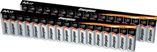 34-Count Energizer MAX AA Batteries $6.47 + Free Shipping w/ Prime or FSSS