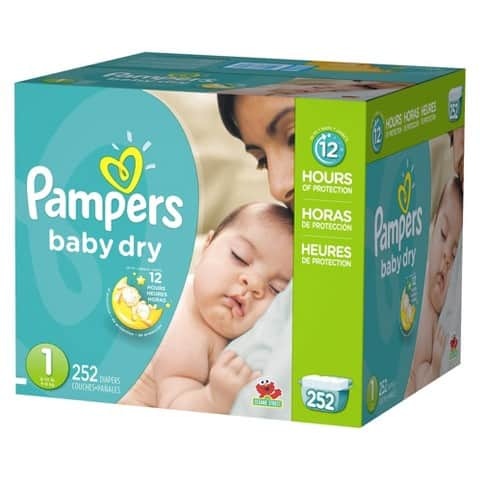2-Boxes of Pampers Diapers Economy Plus Pack + $30 Target GC  $92 & More + Free S&H