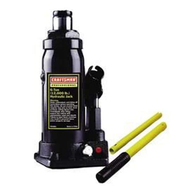 Craftsman 6-Ton Hydraulic Bottle Jack  $15 + Free Store Pickup