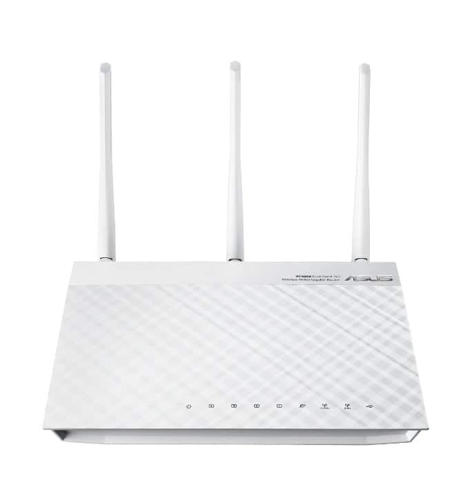 ASUS RT-N66W Dual-Band Wireless-N900 Gigabit Router  $60 after $20 Rebate + Free S&H