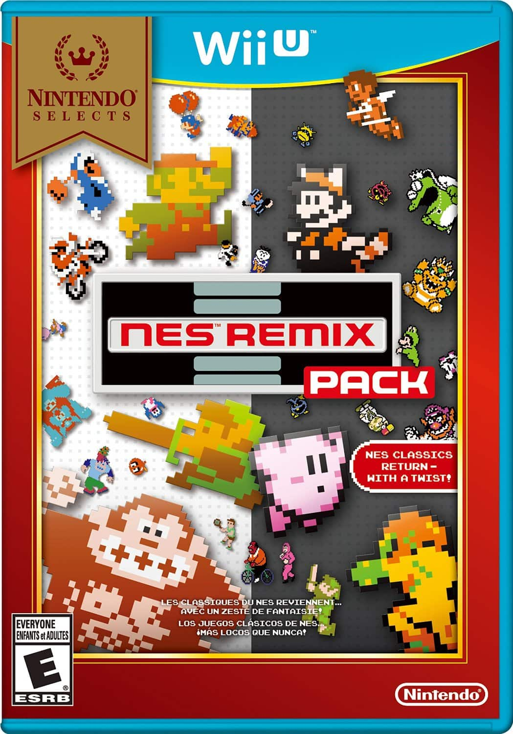 Nintendo Selects: NES Remix Pack (Wii U) + More  $16 (Amazon Prime Req) + Free S&H
