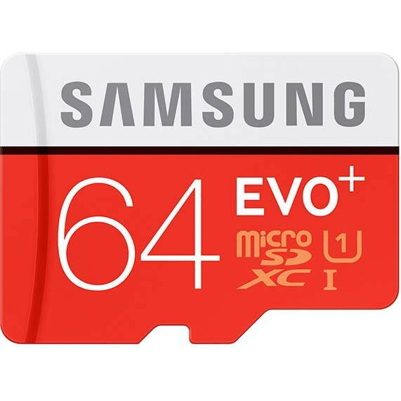 Frys Email Exclusive: 64GB Samsung EVO+ Class 10 microSD Card  $16 + Free Store Pickup (w/ Email Code)