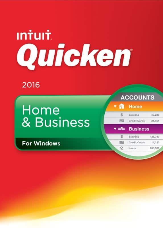 Quicken Home & Business 2016 (PC Digital Download)  $10