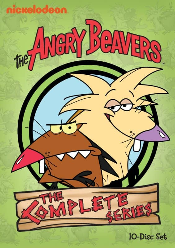 The Angry Beavers: The Complete Series (10-Disc DVD Set)  $17