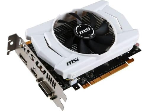 MSI GeForce GTX 950 DirectX 12 GTX 950 2GD5 OCV1 2GB 128-Bit GDDR5 PCI Express 3 for $120 + Free Shipping! (eBay Daily Deal)
