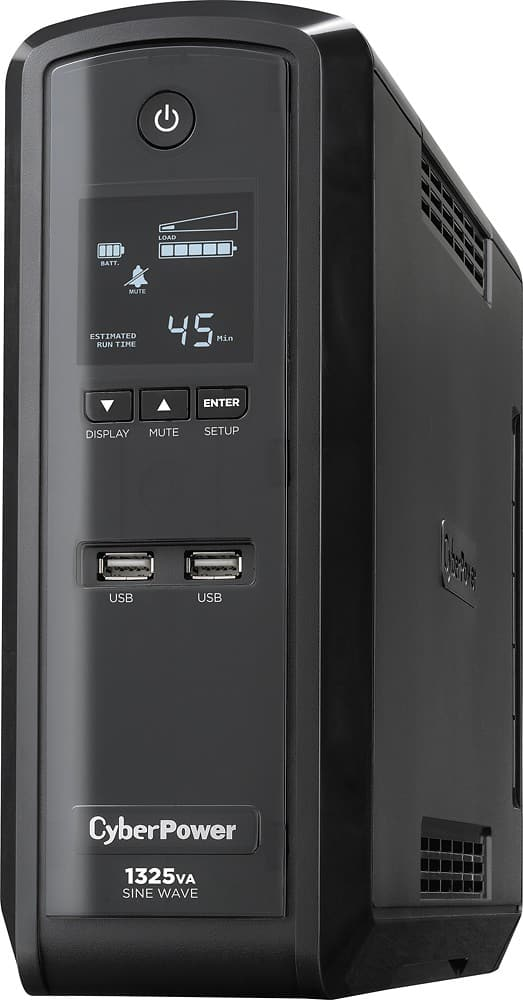CyberPower GX1325U 1325 VA (810 Watts) Pure Sine Wave 10-Outlet Mini-Tower UPS for $124.99 + Free Shipping @ Newegg.com
