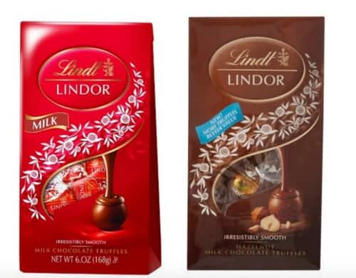 Lindt Printable Coupon: 6oz or 5.1oz Lindt Lindor Truffles  BOGO Free