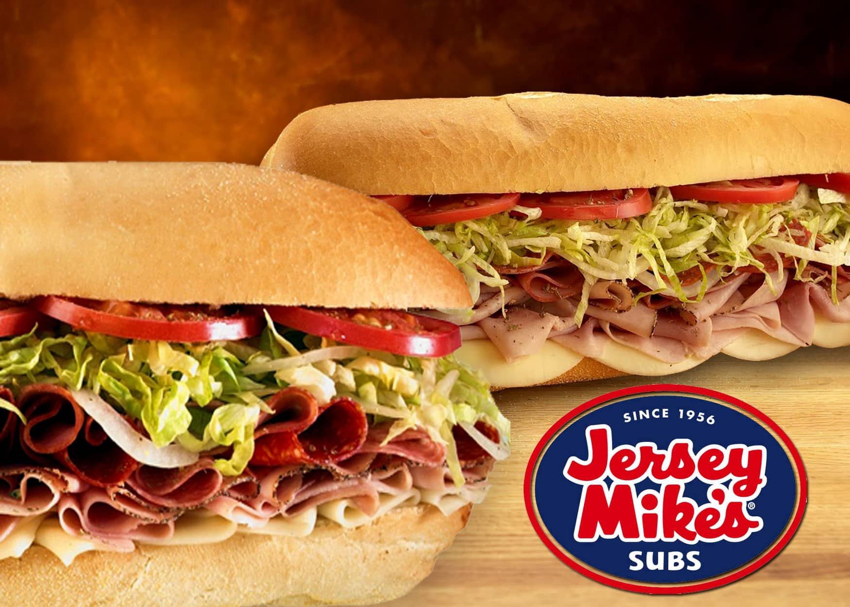 Buy 1 Get 1 Free Regular Sub @ Jersey Mike's (Valid 5/6-5/8)