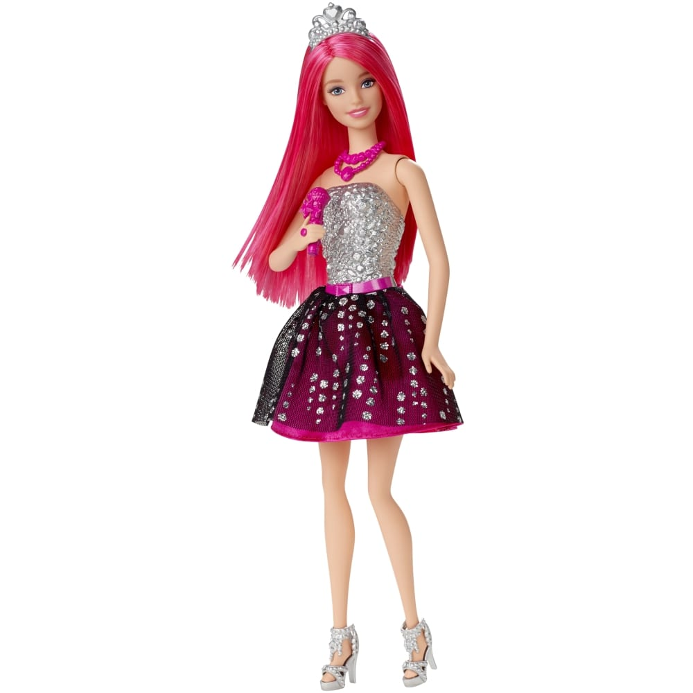 Barbie in Rock 'N Royals Courtney Doll and Mic  $5.50 & More + S&H