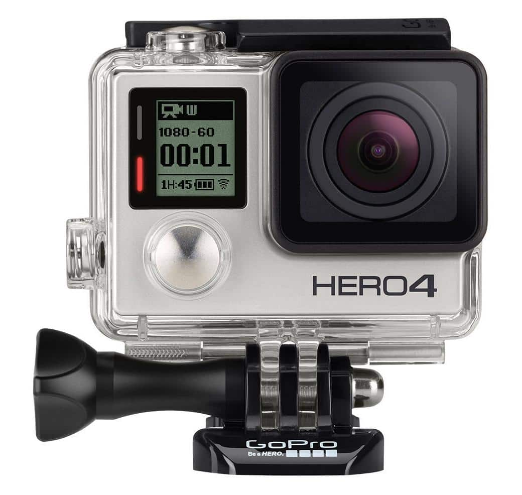 GoPro HERO4 Silver plus one free accessory Bundle $300@ Microsoft