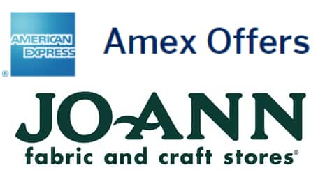 Amex Offer: Spend $50 At Jo-Ann Fabric Get $10 Statement Credit, Use To Buy Amazon/eBay etc Gift Cards