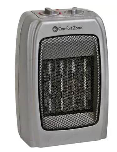 Comfort Zone or Pelonis 1500W Ceramic Heater  $9.90 & More + Free Store Pickup