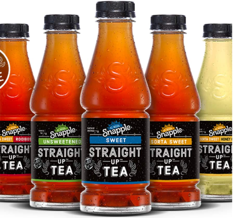 Printable Coupon for 18.5oz Snapple Straight Up Tea  Free (Up to $1 Off)
