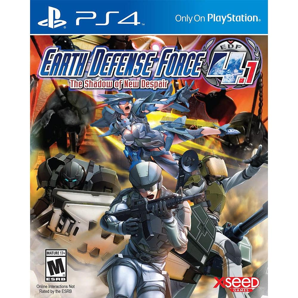 Earth Defense Force 4.1: The Shadow of New Despair (PS4) $19.99 + Free Shipping