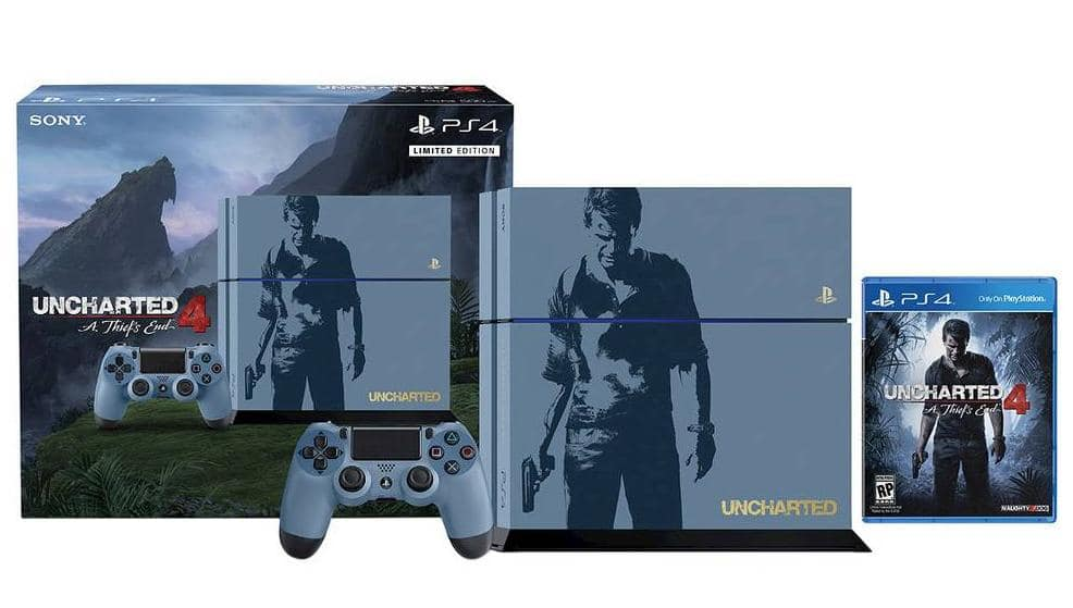 Target REDcard: 500GB PS4 Limited Edition Uncharted 4 Bundle  $283 + Free Shipping