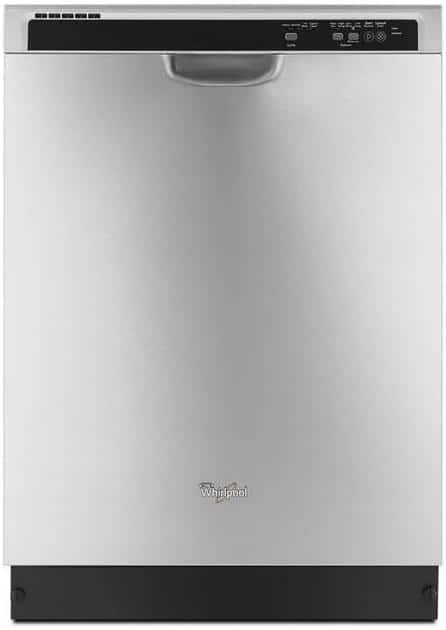 """24"""" Whirlpool 55-Decibel Built-in Dishwasher (Stainless Steel)  $269 + Free Shipping"""