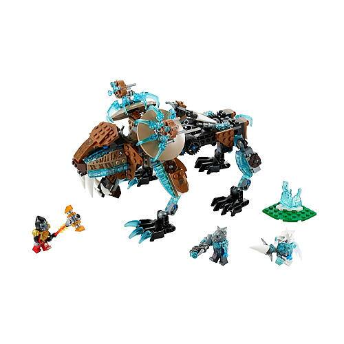 LEGO Legends of Chima Sir Fangar's Saber-Tooth Walker $24, LEGO City Helicopter Pursuit $24, LEGO Ninjago Titanium Dragon $25.80 & More + Free Shipping
