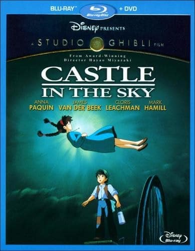 Studio Ghibli Blu-rays: The Wind Rises, Castle in the Sky  $15 & More + Free Store Pickup