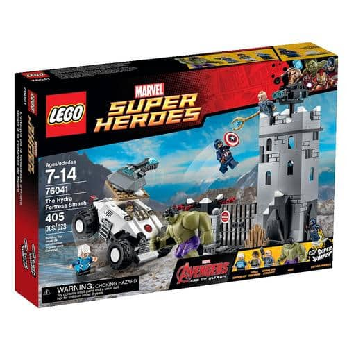 LEGO Super Heroes The Hydra Fortress Smash $23.98 + Free Shipping