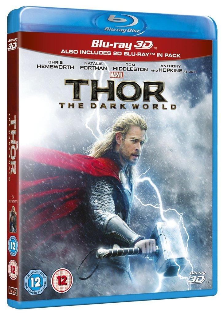 Thor: Dark World (3D + 2D Blu-ray)  $10 + Free Shipping