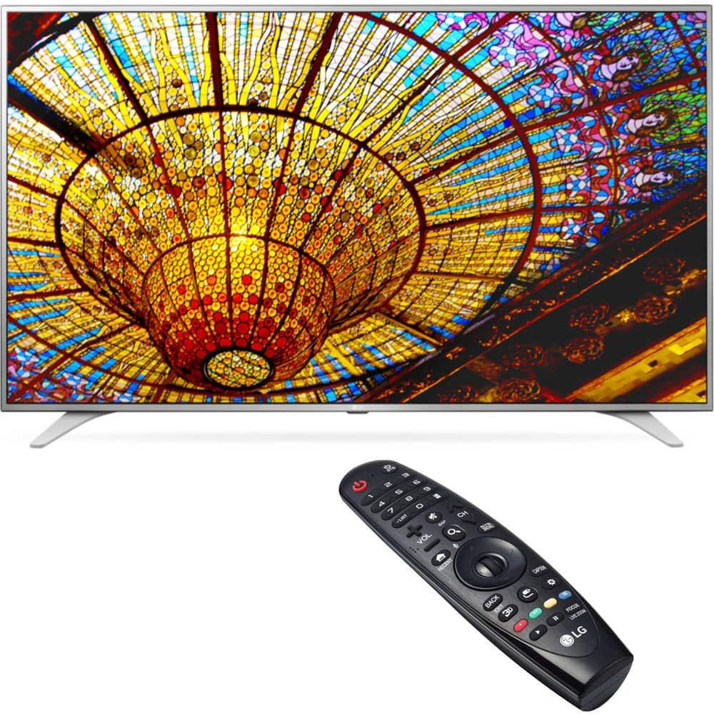 "49"" LG 49UH6500 4K UHD Smart HDTV w/ Magic Remote Control  $489 + Free Shipping"