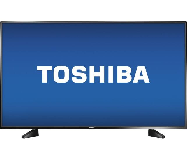 "Toshiba - 43"" Class (42.5"" Diag.) - LED - 1080p - Black $199.99 shipped Best Buy live Sunday"