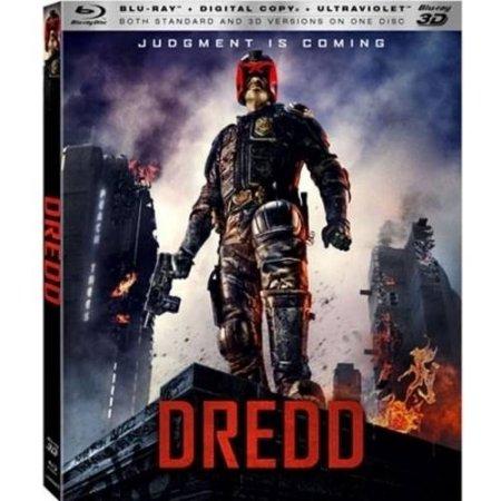 Dredd (3D Blu-ray + Blu-ray)  $5 + Free Store Pickup