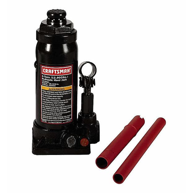 Craftsman 6 ton Hydraulic Bottle Jack $14 w/store pick up ~ Sears