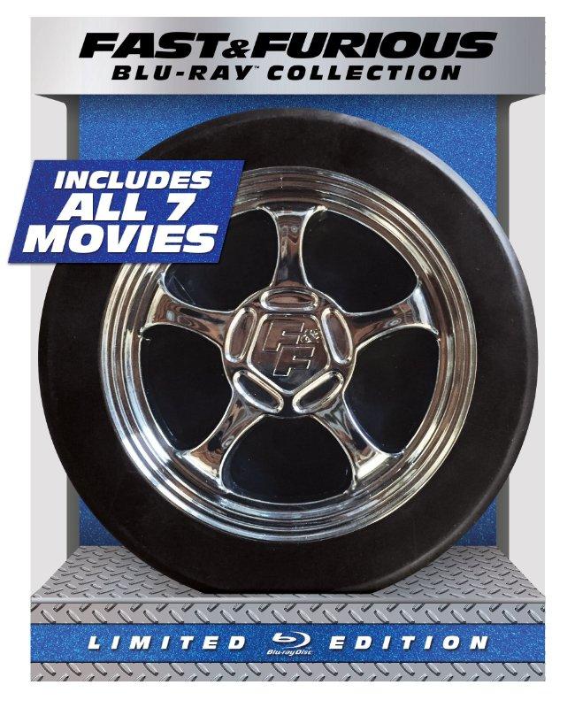 Prime Members: Fast & Furious 1-7 LE Coll. (Blu-ray + Digital HD)  $35 + Free Shipping