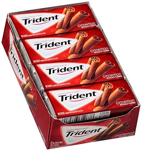 12-Pack of 18-Count Trident Sugar Free Gum (Cinnamon)  $6.10 & More + Free Shipping
