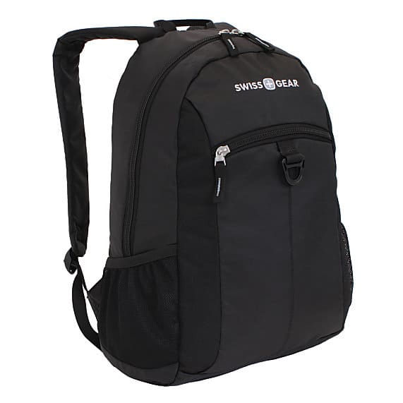 "SwissGear Student Backpack for 15"" Laptops (Black)  $10 + Free Shipping"