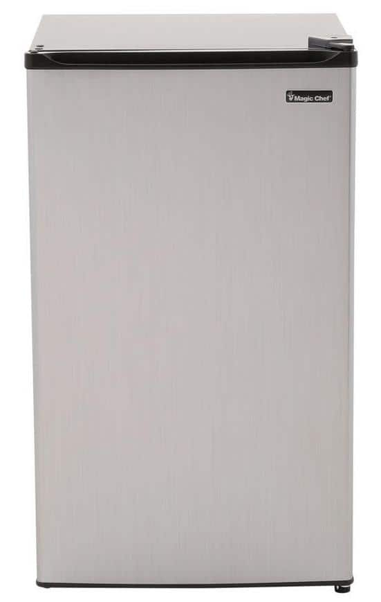 Home Depot: Magic Chef 3.5 cu. ft. Mini Refrigerator in Stainless Look - $99.88 Plus Free Shipping