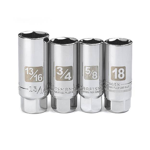 "Craftsman 1/2"" Drive 18"" Flex Handle $9.79, 4-Piece Craftsman 3/8"" Drive Spark Plug Socket Set $4.39 & More + Free Store Pickup ~ Sears"