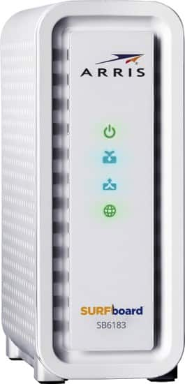 Arris SURFboard SB6183 DOCSIS 3.0 Cable Modem  $80 + Free Shipping