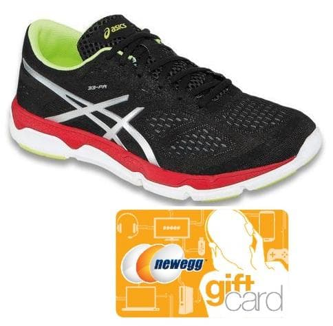 ASICS Men's 33-FA Running Shoes + $5 Newegg GC  $35 + Free Shipping