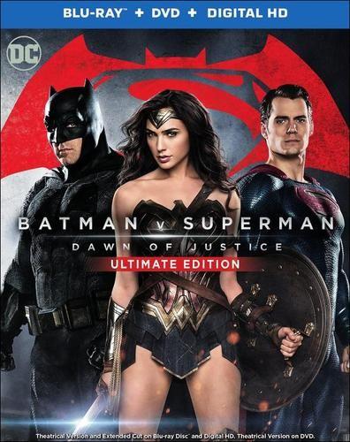 Batman v Superman: Dawn of Justice (Blu-ray + DVD + Digital HD) $14.99, (3D + Blu-ray + Digital HD) $19.99  + Free Store Pickup @ Best Buy