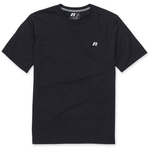 Russell Men's Performance Dri Power 360 Tee (Size S or L)  $3 + Free Store Pickup