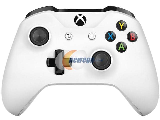 Microsoft Xbox One S Wireless Controller (White)  $45 + Free Shipping
