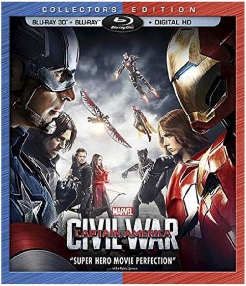 Captain America: Civil War Pre-Order (3D Blu-ray + Blu-ray + Digital HD) + $5 Target Gift Card $20 @ Target (Free Shipping w/ Red Card)