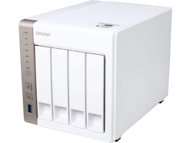 QNAP TS-451 4-Bay Diskless NAS Personal Cloud Server $329AC @Newegg