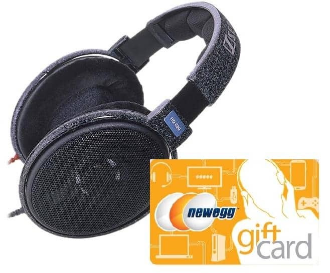 Sennheiser HD600 Headphones + $200 Newegg Gift Card  $400 + Free Shipping